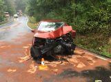 Vážná dopravní nehoda mezi Petrovicemi a Milevskem komplikuje provoz