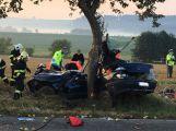 U vážné nehody u Bubovic zasahuje vrtulník
