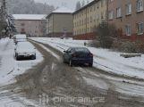 První sníh může dát řidičům zabrat