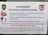 Hasiči zkoušeli průjezdnost Drkolnovem, někteří řidiči dostali vzkaz