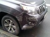 V Březnici se srazila dvě auta