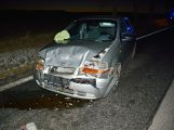 Nehoda dvou vozů komplikuje dopravu u Rožmitálu