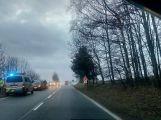 Mezi Milínem a Příbramí se srazily dva vozy
