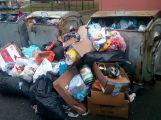 Foto dne: Na návaly jídla a dárků popelnice nestačí