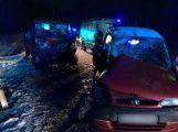 Aktuálně: K vážné nehodě u Teslín letí vrtulník, silnice je uzavřena