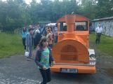 Hasiči ze Zdaboře slavili výročí, lidi vozil turistický vláček