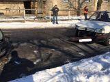 Před nedělním polednem se střetli dva řidiči v Lazsku