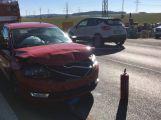 Dopravní nehoda u Zalužan si vyžádala zranění