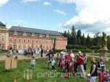 Dobříšský zámek získal peníze na obnovu francouzského parku a zámecké oranžerie