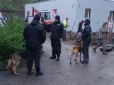 Koncem týdne cvičili na Rynečku vězeňští psovodi