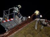 Právě teď: Hasiči zasahují u požáru střechy rodinného domu v Hoděmyšli