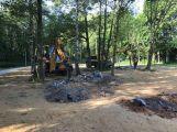 Začala demontáž lanového parku, stěhuje se na Nový rybník