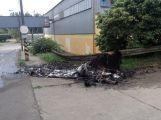 Sobotní ráno povolalo příbramské hasiče požárem v Milíně