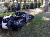 U Chmelnice došlo ke střetu osobního vozu s motocyklem