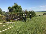 Právě teď: Ve Vysoké zasahují profesionální i dobrovolní hasiči