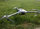 Policejní dron je opět v provozu