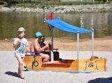 Na Novém rybníku mají děti novou atrakci