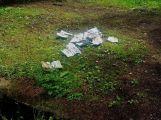 Někdo lesy uklízí a někdo se v nich zbavuje odpadků