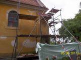 Kostel Povýšení sv. Kříže v Dobříši se dočká nové střechy