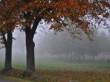 Na Den české státnosti se Příbramsko zahalilo do mlhy