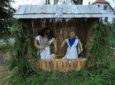 Při cestách po Příbramsku se zastavte u slaměného betlému v Pňovicích