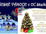 České Vánoce a Strom splněných přání v OC Skalka