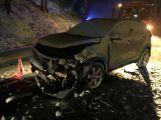 Aktuálně: Čelní střet se zraněním komplikuje dopravu na silnici 118