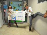 Organizace Zdravotní klauni věnovala 30 tisíc korun dětskému oddělení příbramské nemocnice