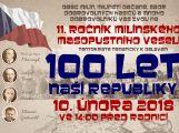Do Milína 10. února přijedou prezidenti, vojáci, pionýři - celkem 200 účinkujících