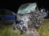 Viník nehody skončil s těžkým zraněním v nemocnici