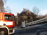 Dva mrtví při požáru domu v Čimelicích