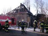 Kriminalisté vyšetřují požár, který v Čimelicích nepřežili dva lidé