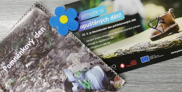 Pomněnkový den připomíná pohřešované děti