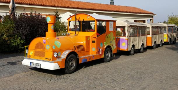 Příbram prodává turistický vláček, minimální cena je 483 tisíc korun