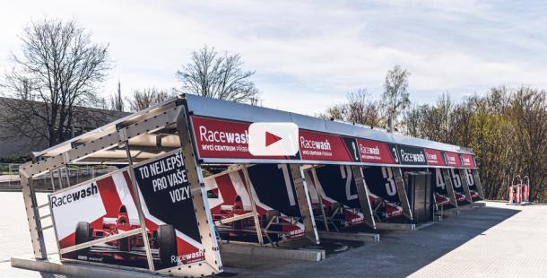 SOUTĚŽ o 3x kredit na mytí zdarma v hodnotě 1000 Kč na nově otevřené automyčce RACEWASH
