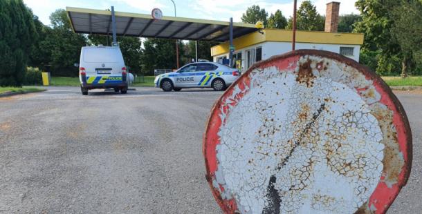 Zloději v noci vykradli čerpací stanici v Krásné Hoře nad Vltavou, na místě jsou kriminalisté